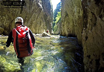 Canyoning Challenge Yourself