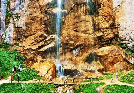 Skakavac Waterfall Trekking
