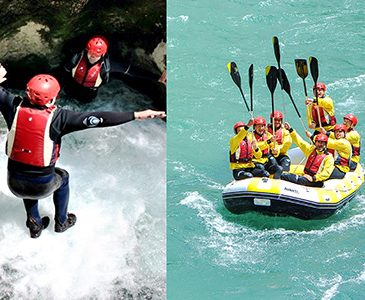 Canyoning + rafting tour (2in1)